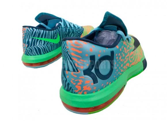 Nike KD VI (6)  Electric Green Night Factor-Atomic Orange ... 6522ca61f7fb