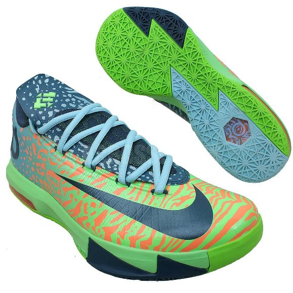 quality design b54ff ef3df nike-kd-vi-6-electric-green-night-factor-