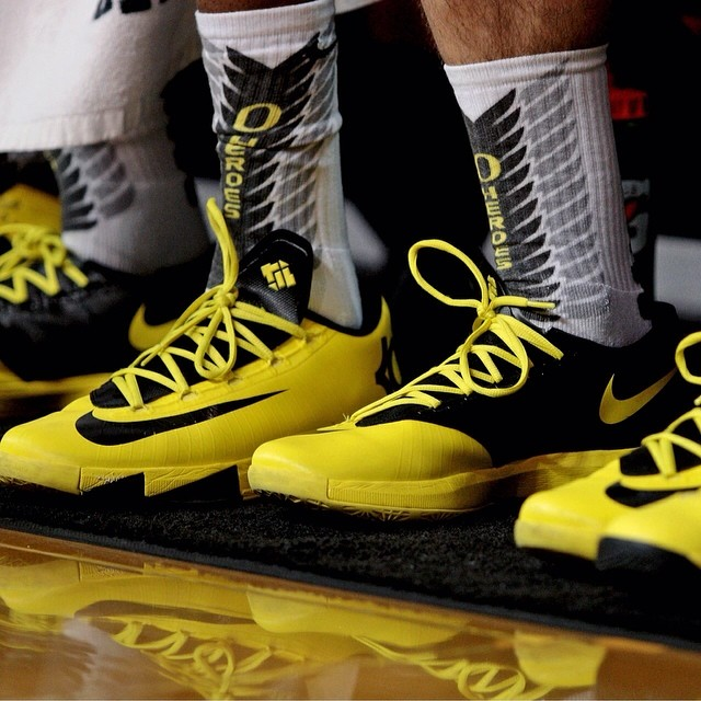 Nike KD VI (6) Oregon Ducks PE