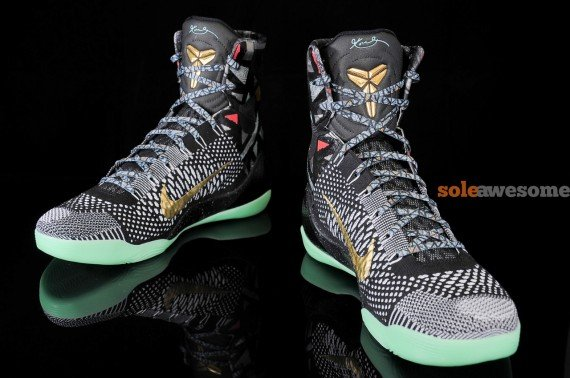 buy online b4770 fc1b5 Nike Kobe 9 Elite All-Star Maestro Detailed Look
