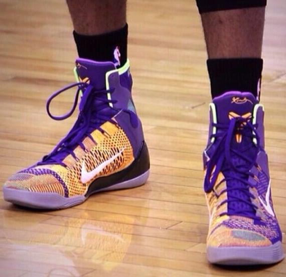 Nike Kobe 9 Elite Lakers PE