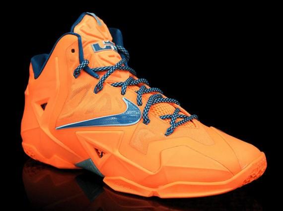 """Nike LeBron 11 """"Atomic Orange"""