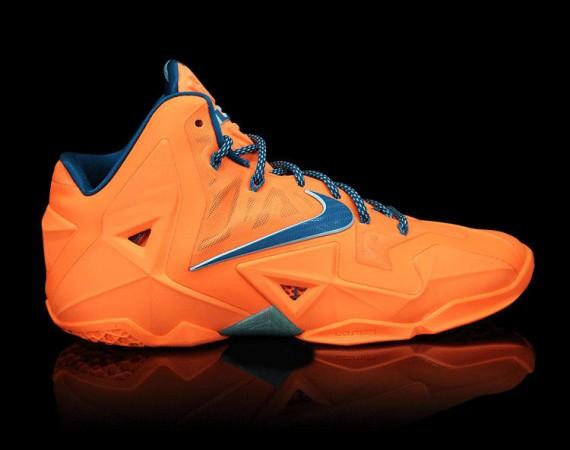 Nike LeBron 11 Atomic Orange Release Reminder