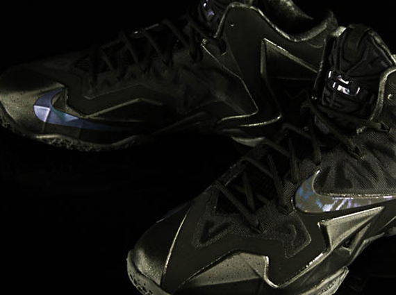 Nike LeBron 11 Stealth Detailed Look