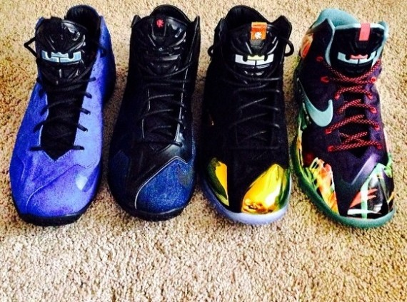 Nike LeBron 11 EXT Collection