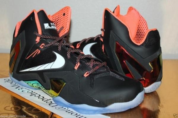 Nike LeBron XI (11) Elite Black/Atomic Mango-White   Release Date Announced