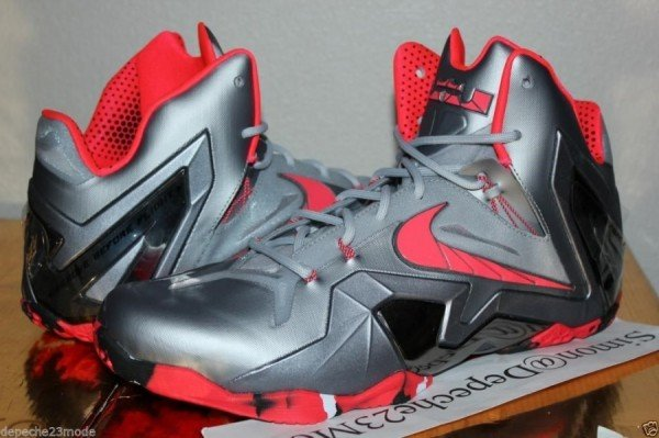 Nike LeBron XI (11) Elite Wolf Grey/Crimson-Cool Grey-Black Release Date Info
