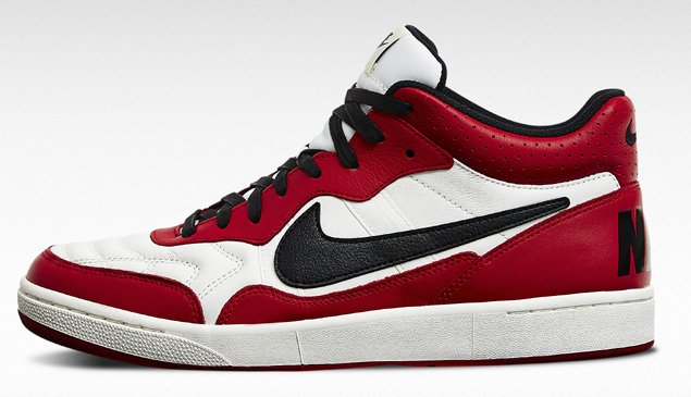 official photos f64cb c9024 Nike Tiempo 94 Mid Ivory Black Gym Red Now Available