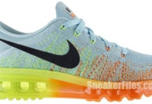 Nike Womens Flyknit Air Max Glacier Ice Atomic Orange Release Info
