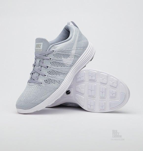 Nike Flyknit Womens Grey