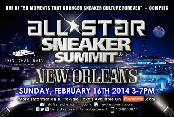 All Star Sneaker Summit New Orleans Event Reminder
