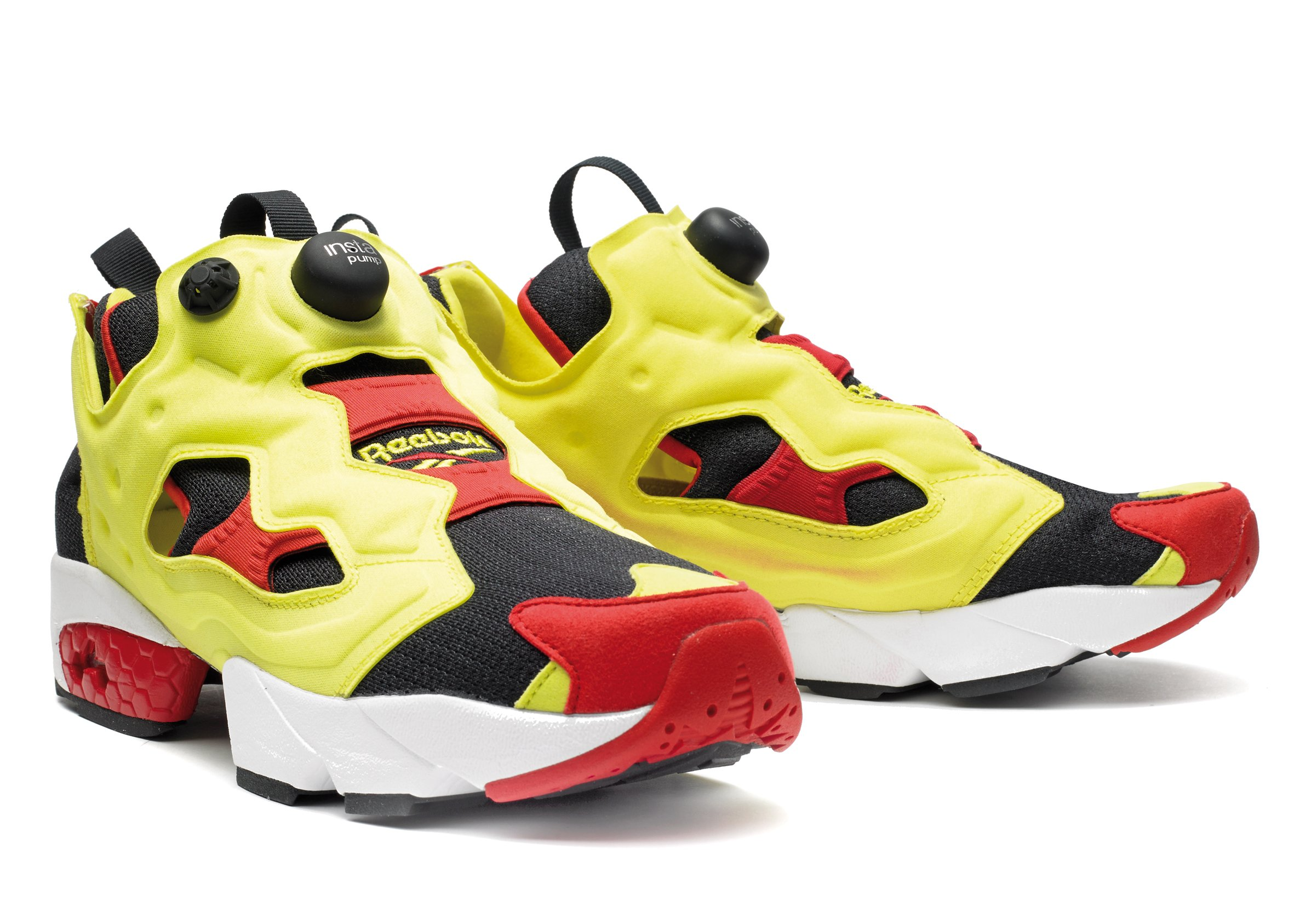 reebok insta pump fury og 39 citron 39 official images sneakerfiles. Black Bedroom Furniture Sets. Home Design Ideas