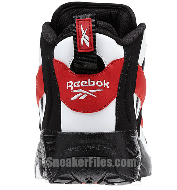 Reebok The Rail Black White Red Detailed Look
