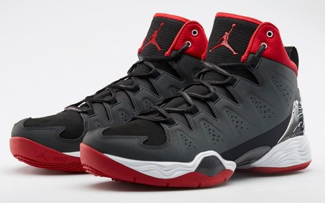 aef632d687ca Release Reminder  Jordan Melo M10  Black White-Anthracite-Gym Red ...