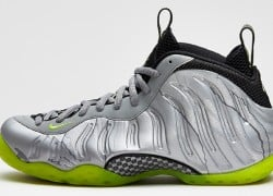 Release Reminder: Nike Air Foamposite One 'Metallic Silver/Volt-Black-Metallic Cool Grey'