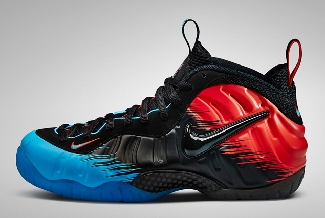 Release Reminder: Nike Air Foamposite Pro PRM 'Spider-Man