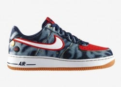 Release Reminder: Nike Air Force 1 Low Denim 'Midnight Navy/White-University Red'