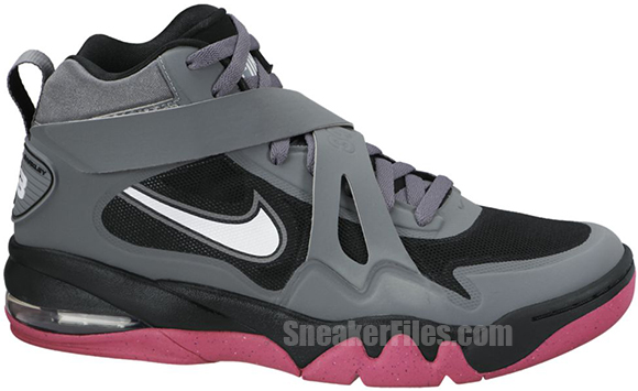 Release Reminder: Nike Air Force Max CB 2 Hyperfuse Cool Grey White-Black-Vivid Pink