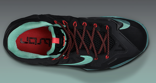 Release Reminder: Nike LeBron XI (11) Black Diffused Jade Light Crimson Jade Glaze