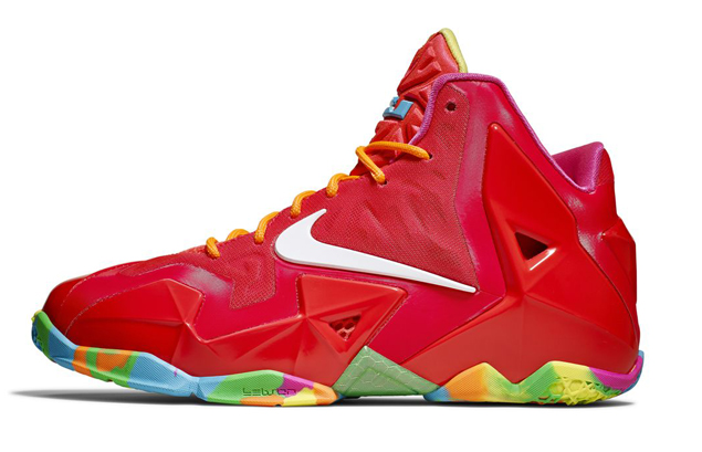 Release Reminder  Nike LeBron XI (11) GS  Fruity Pebbles   959002776
