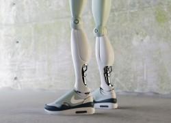 Sneaker Art: Nike Robotics by Simeon Georgiev