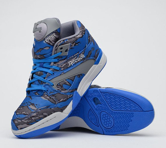 stash reebok court victory pump blue grey steel