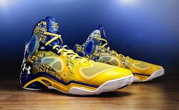 super cute 329ea 21884 Under Armour Anatomix Spawn The Zone Stephen Curry PE