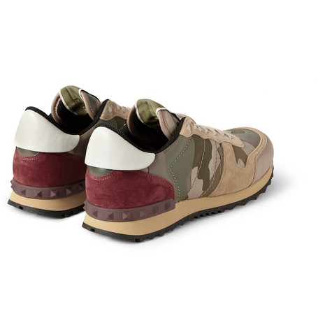 valentino-panelled-leather-and-suede-camouflage-sneakers