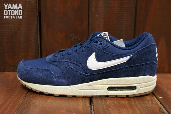 new concept 357a9 44d67 Nike Air Max 1 Essential Perforated Suede Makes ...