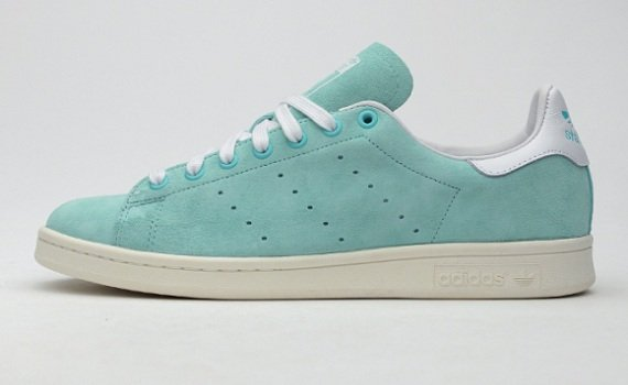 adidas Stan Smith Suede Mint