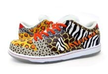 Sekure D Nike SB Dunk Low Custom (On Safari)
