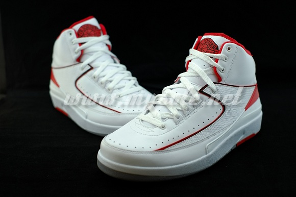 Air Jordan 2 Retro White/Red aka Varsity Red