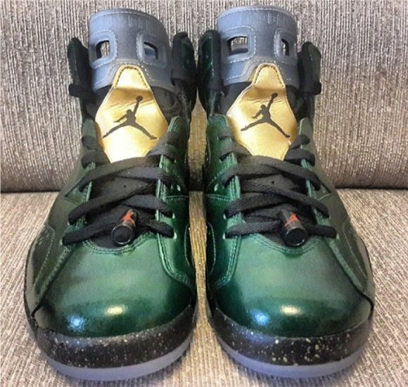 Air Jordan 6 Champagne Bottle