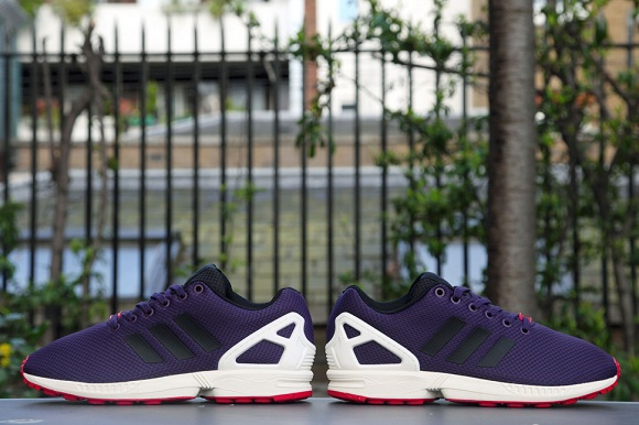 adidas Consortium ZX Flux - Dark Violet