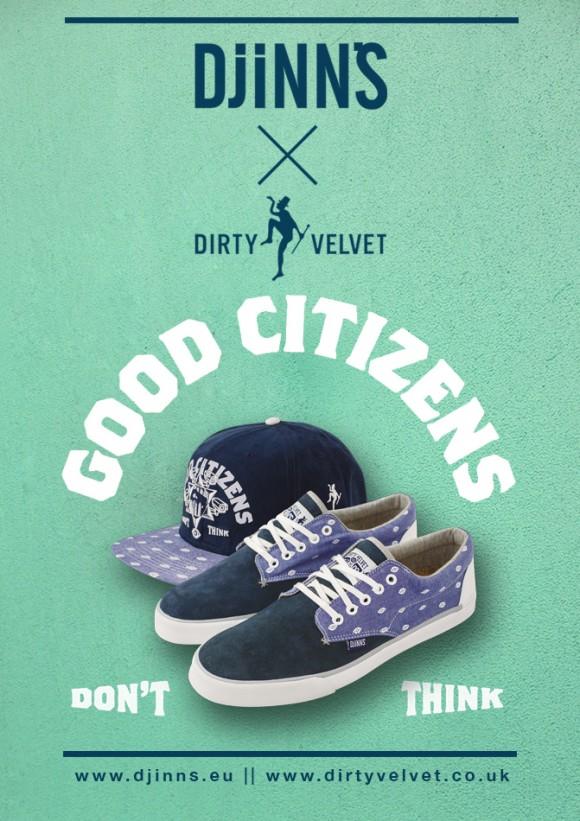 DJINN'S x DIRTY VELVET Collab Now Available