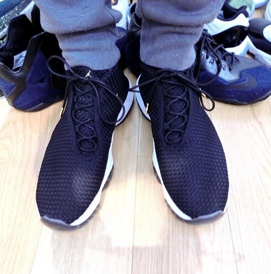 Jordan Future Black White On-Foot Look
