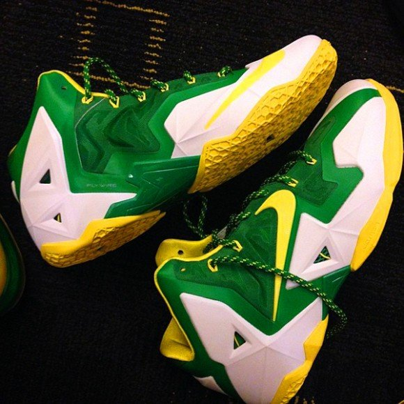 Nike LeBron 11 Oregon Ducks PE First Look