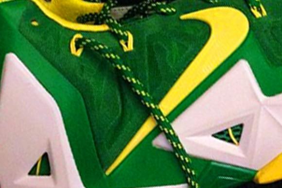 Nike LeBron 11 Oregon Ducks PE First Look