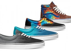 "Vans Presents ""Ombre & Tie Dye"" Classics for Spring 2014"