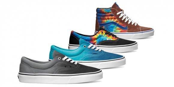 Vans Presents Ombre & Tie Dye Classics for Spring 2014