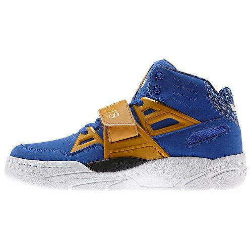huge selection of 5c9dd 5dce6 adidas Mutombo TR Block Vivid Blue Now Available