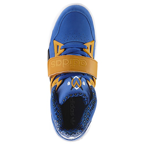 huge selection of 4f9c9 362fa adidas Mutombo TR Block Vivid Blue Now Available