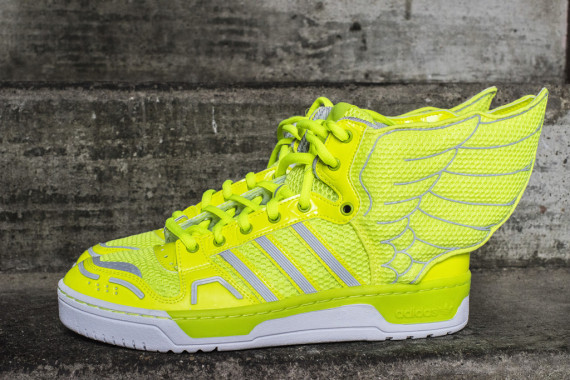 Jeremy Scott x adidas JS Wings 2.0 Neon Now Available