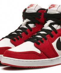 Air Jordan 1 Retro KO High 'White/Black-Gym Red' | Official Images