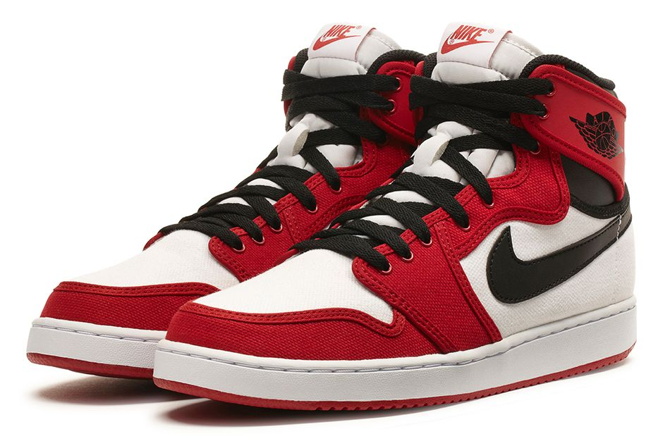 air jordan 1 retro ko high white/black-gym red lobster
