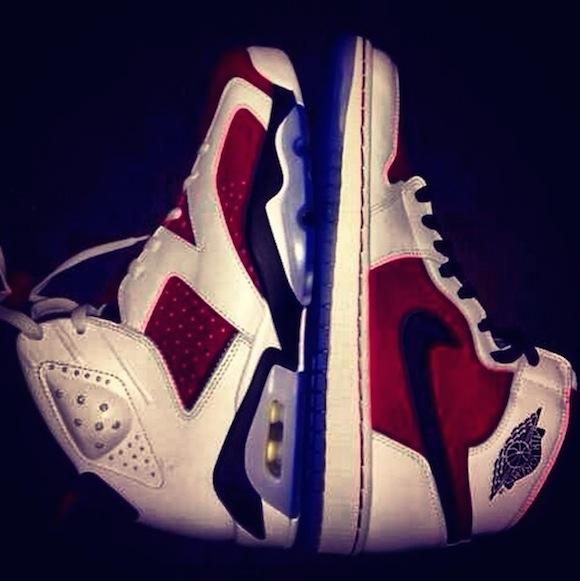 Air Jordan 1 Retro OG High Carmine Another Look