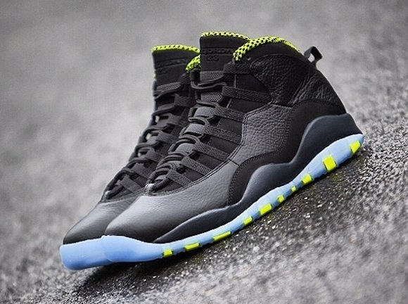 Air Jordan 10 Retro Venom Green Yet Another Look