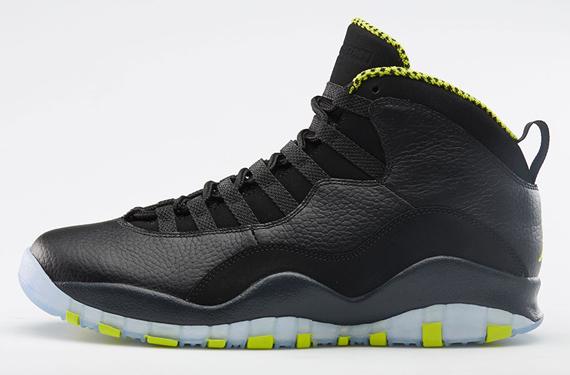 Air Jordan 10 Venom Green Nikestore Release Details