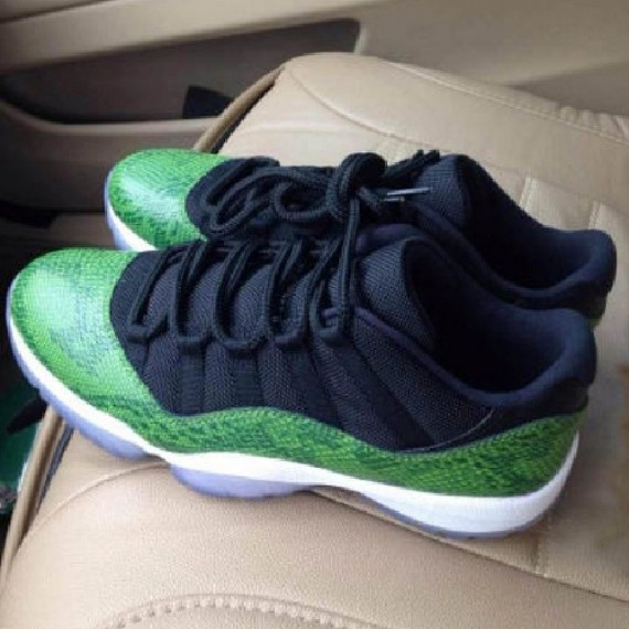 Air Jordan 11 Low Green Snake Another Look