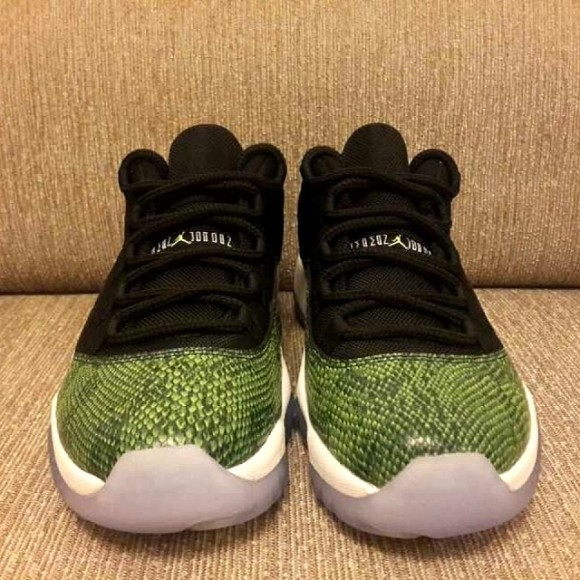 Air Jordan 11 Low Green Snake Yet Another Look